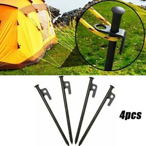 4-20-30-40cm-Camping-Tent-Nails-Pegs-Tent-Nail-Canopy-Awning-Sand-Screws-Outdoor