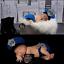 Newborn-Baby-Girl-Boy-Crochet-Knit-Costume-Photo-Photography-Prop-Hats-Outfits miniatuur 76