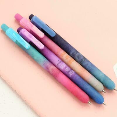 Buntes Himmel-Kugelschreiber-Gel-Tinten-Stift-Büro-Schulbriefpapier Se K3D8 A3N7