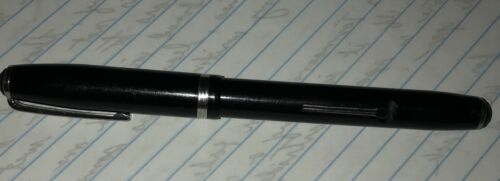Esterbrook Black Fountain Pen, Lever Fill VINTAGE