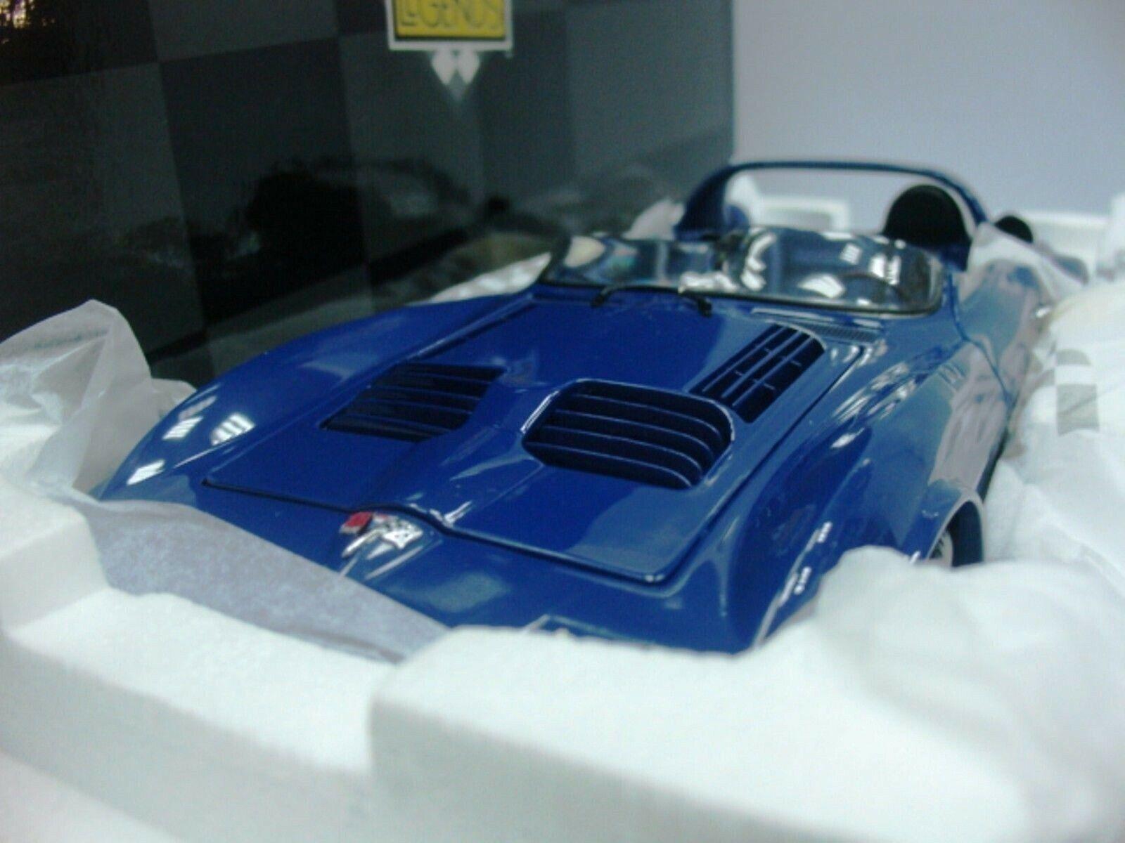WOW EXTREMELY RARE Chevrolet Corvette GS Roadster Prototyp 1964 Blau 1 18 Exoto