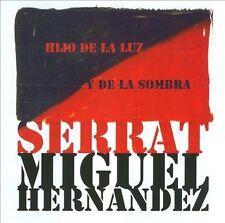 Hijo De La Luz Y De La Sombra Serrat Joan Manuel CD New
