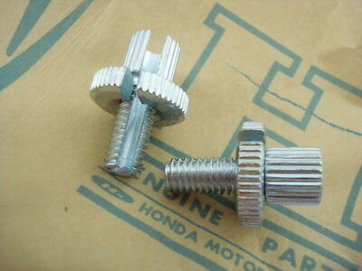 Honda CT90 CT110 CT200 CM185 CM200 SL70 SL90 SL100 SL125 Cable Adjusters  / 2pcs