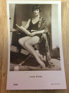 Louise-Brooks-alte-Starpostkarte