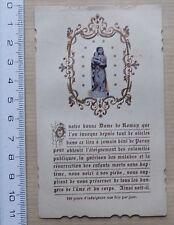 image pieuse religieuse NOTRE DAME DE ROMAN PARAY LE MONIAL - 1901
