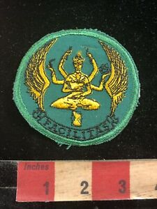 Details About Vintage Unknown Meaning Many Arms Hands Facilitas Patch C96u