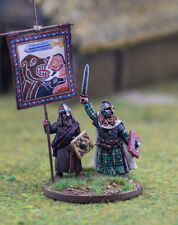 Dark Ages Scots / Picts Chieftain & Standard Footsore Miniatures SAGA 03PSC001