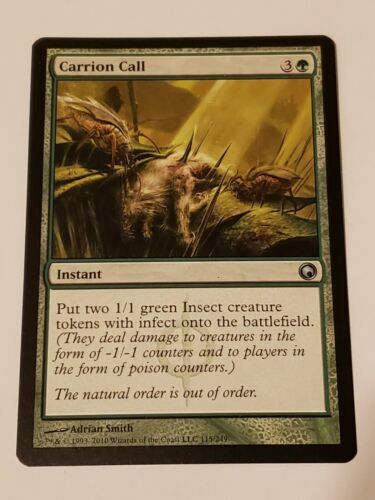 Carrion Call Scars Of Mirrodin Mtg Card Mint Condition