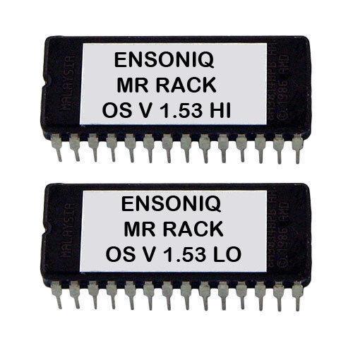 Ensoniq Mr Rack Firmware Upgrade Version 1.53 Latest OS Eprom Update