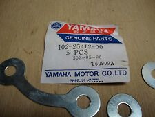 102-25412-00 Yamaha Washer AS2C BW80 DT100 G6 L5T PW80 RD60 1963-2001 W2796 NOS