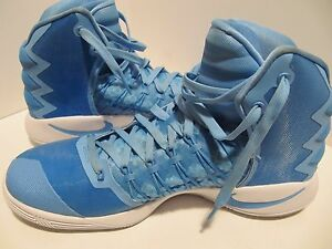 e861c89693c Image is loading NIKE-HYPERDUNK-2016-CAROLINA-BLUE-WHITE-BASKETBALL-SHOES-