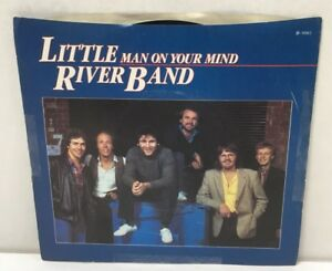 Little-River-Band-Man-On-Your-Mind-45-rpm-7-034-Vinyl-Record-Capitol-1981-VG