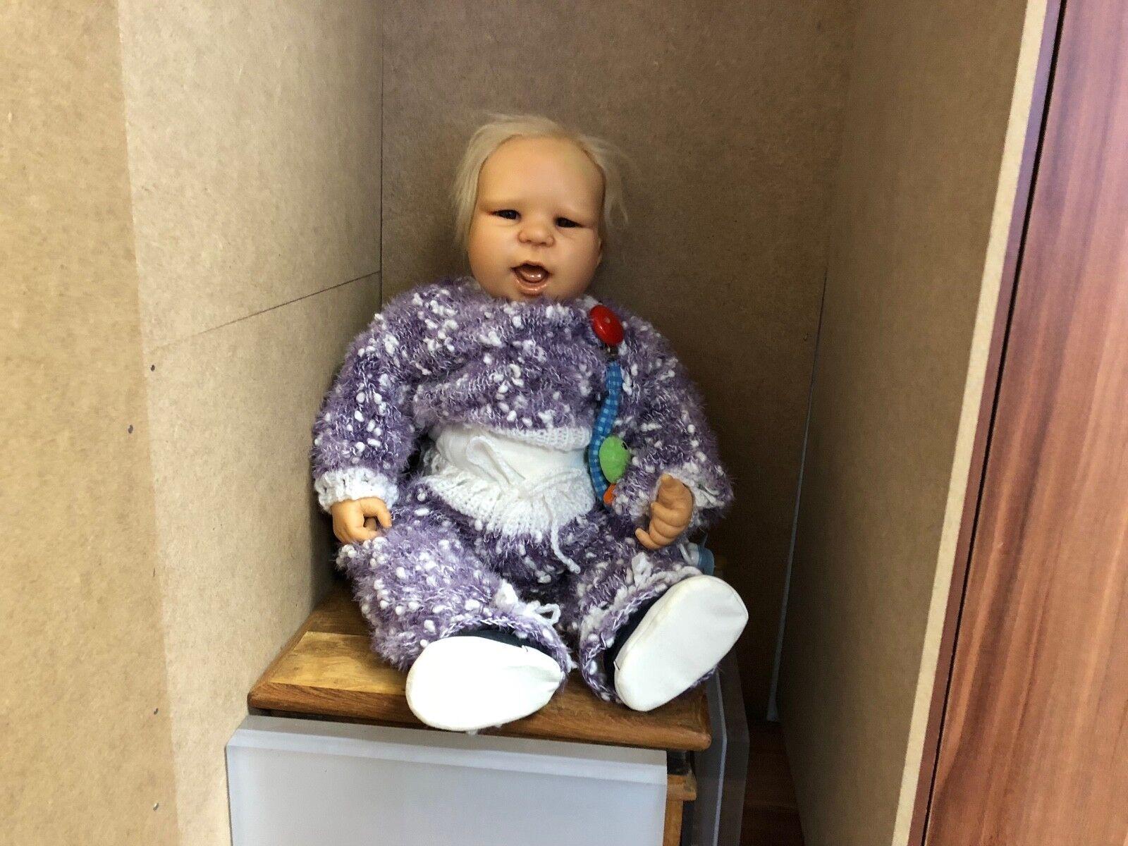Katja Schneider & ruth Kunz resin muñeca 56 cm. top estado