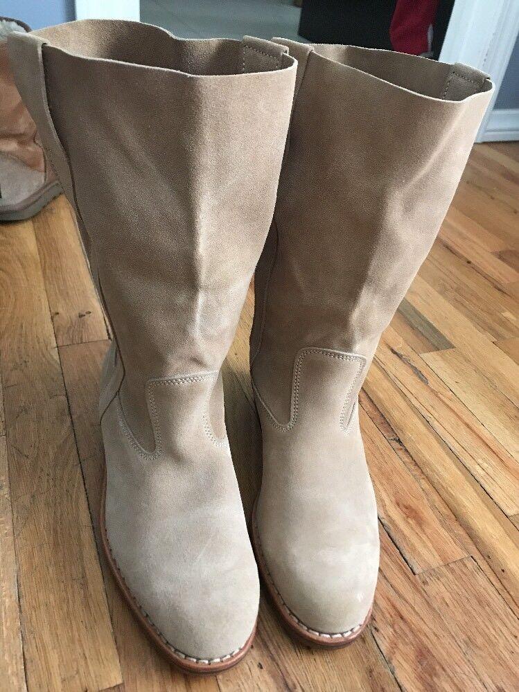 348 La Botte Gardienne Ella Rost Leather Suede Boots 38