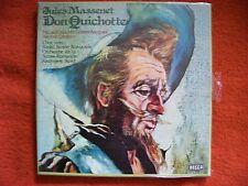 Jules Massenet - Don Quichotte    Decca 3er LP Box NEU OVP