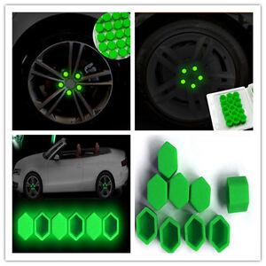 Auto-Car-Silicone-illuminate-Wheel-Nuts-Covers-Screw-DUST-Protective-Cap-Q
