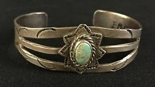 Fred Harvey Era Bracelet *Sterling or Coin Silver* Old Tourist Era Collectible