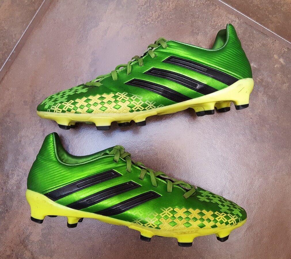 Adidas Predator Absolado Mens US US Mens 7.5 Soccer Football Turf Green Black Cleats eb16aa