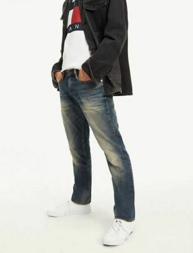 Tommy Hilfiger Straight Fit Ryan W34 L30  Mens Penrose Blue Denim Jeans