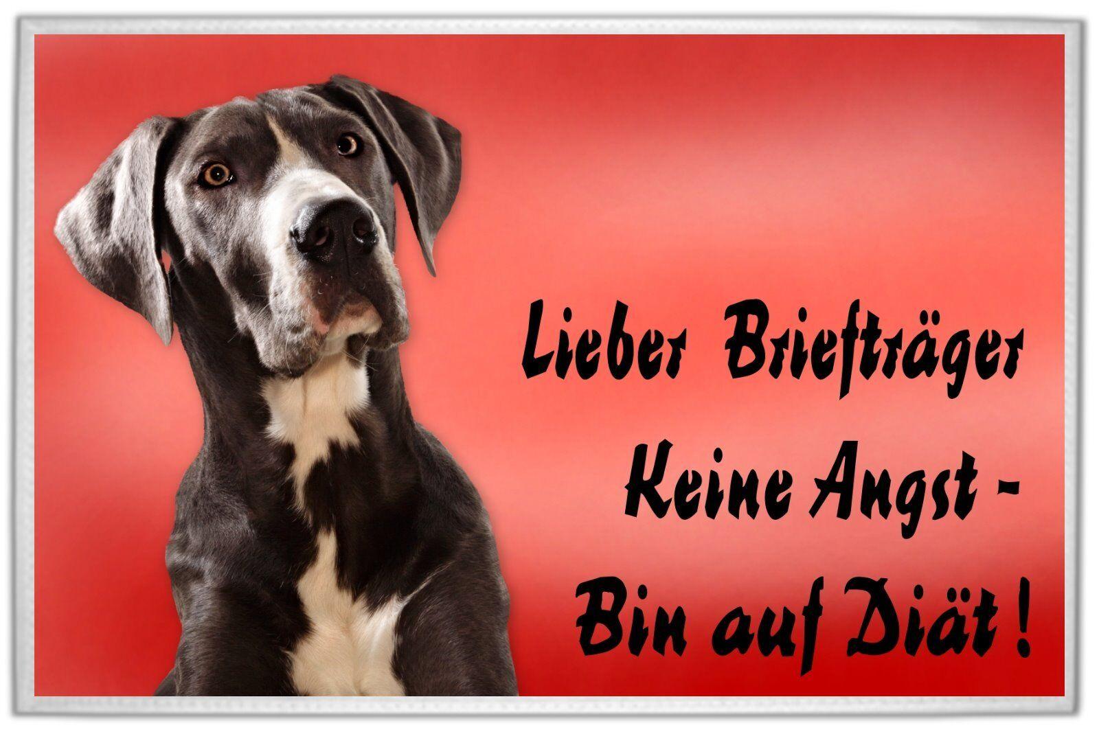 Deutsche Dogge       FUßMATTE  FUßABTRETER  TÜRVORLEGER  ABTRETER 7346fd