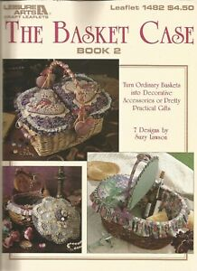 Leisure-Arts-034-THE-BASKET-CASE-034-Book-2-7-Basket-Designs-by-Suzy-Lawson
