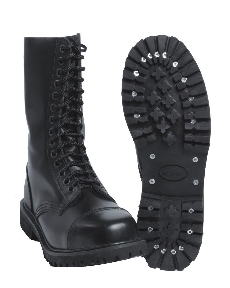 Invader Stiefel 14 Loch Boots Gothic Stiefel Invader Leatherboots Lederstiefel 8e15fd