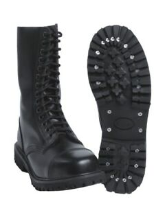Invader Lederstiefel Details About 14 Loch Stiefel Gothic Boots Leatherboots 3q4RLc5SjA