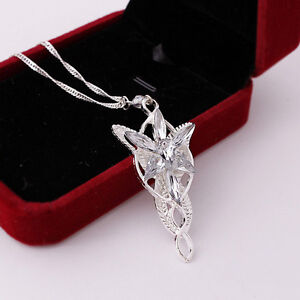 New-Fashion-Lord-Of-The-Rings-pendant-Arwen-039-s-Evenstar-Necklace-Jewerly