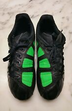 Boy Size 3 3y Youth Nike Soccer Cleats Shoes T-90 Black Neon Green Great