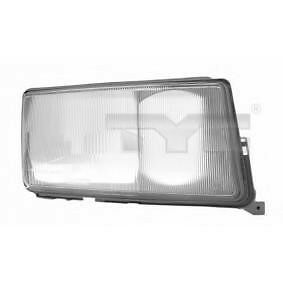 Mb mercedes 190 w201 right headlight lens glass 1982 for Mercedes benz 190e headlights