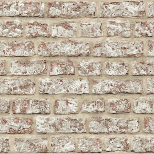 ARTHOUSE RUSTIC BRICK PATTERN PAINTED STONE WALL EFFECT WALLPAPER 889604