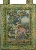 Belgium Hand Woven 2x3 Tapestry Rug Wall Hanging