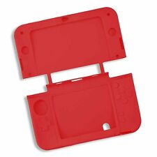 Red Soft Silicone Gel Cover Case for NEW Nintendo 3DSXL 3DS XL Console UK Seller