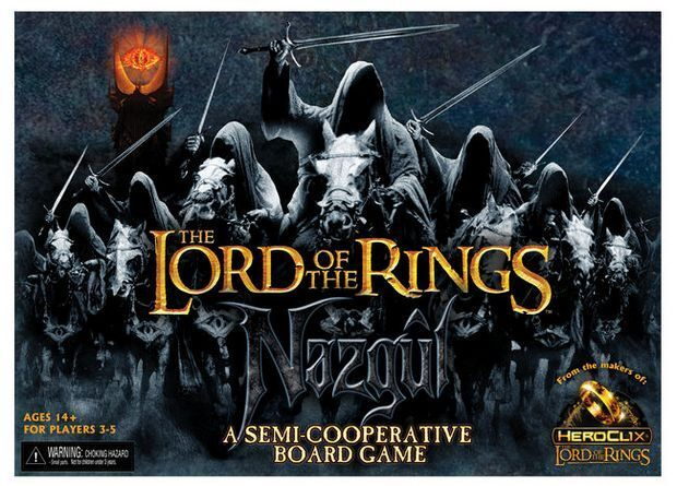 Lord of the Rings  the Nazgul Game, Semi-Cooperative Board Game, English, New