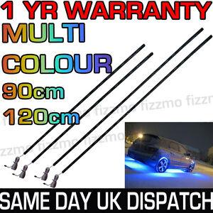LED-UnderCar-Under-Car-Lighting-Light-Neon-Remote-Multi-Colour-RGB-90cm-120cm
