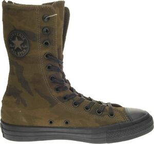 stivale donna CONVERSE ALL STAR CT XHI 546227C shoe boot woman mimetico camo
