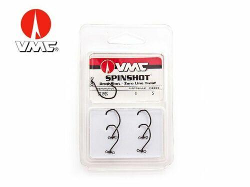 2//0 Drop Shot Haken mit Wirbel VMC Drop Shot 4 St 7119SH - Gr VMC Spinshot DS