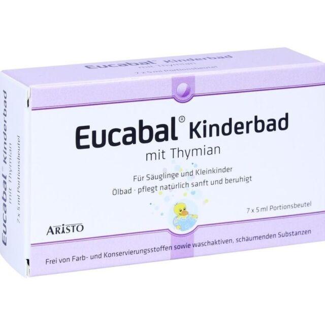 EUCABAL Kinderbad mit Thymian   7x5 ml   PZN10343304