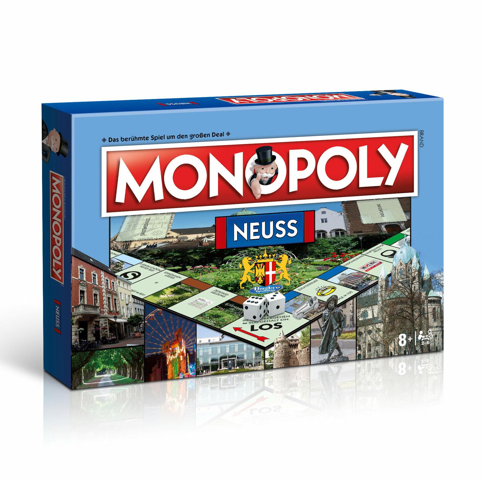 Monopoly Neuss città Edizione Stadtedizione Gioco Gioco di Società  Gioco da Tavola  n ° 1 online