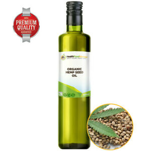 Organic-Hemp-Seed-Oil-Certified-Organic-VIRGIN-COLD-PRESSED-RAW-250ml-Glass