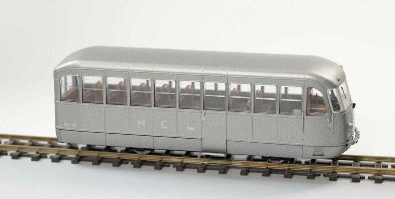 Os.kar E1001 M1 3 MCL , État de Origine, Livrée Aluminium,H0e H0m