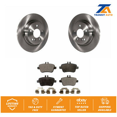 2015 2016 for Mercedes-Benz GLA250 Rear Disc Brake Rotors and Ceramic Pads