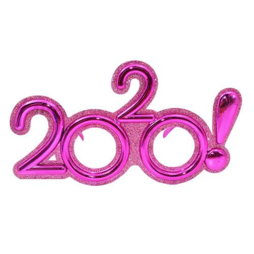 1Pc 2020 Plastic Glasses Happy New Year/'s Eve Glasses Party Favor Photo Props
