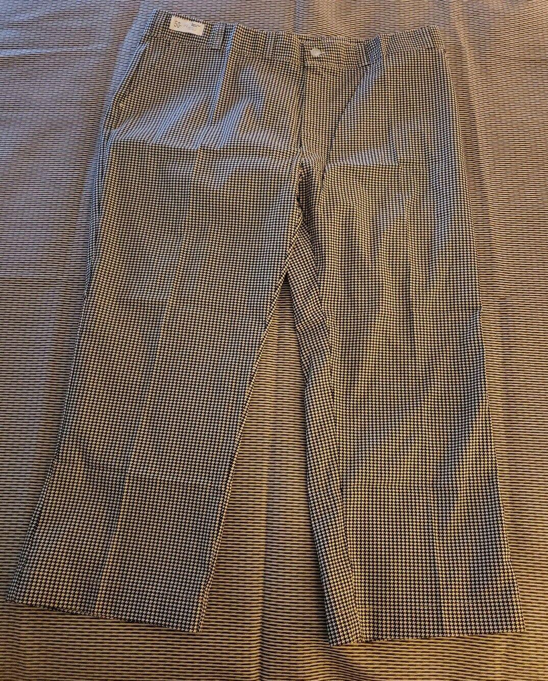 Vintage CHEF PANTS COTTON MENS work wear Chore TROUSER 50 x 29