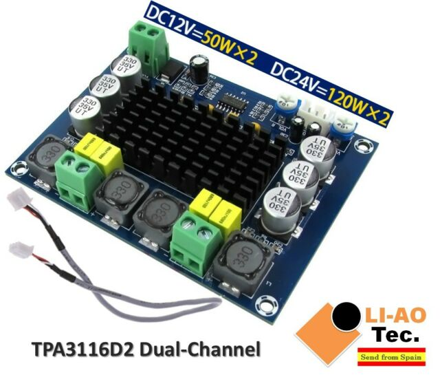 TPA3116D2 Dual-Channel Stereo High Power Digital Audio Power Amplifier 2*120W