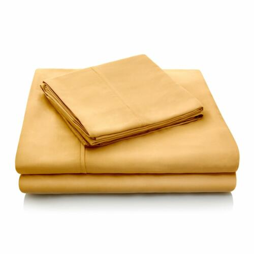 Silky Soft Tencel Bed Sheet Set Moisture and Temperature Regulating Fabric