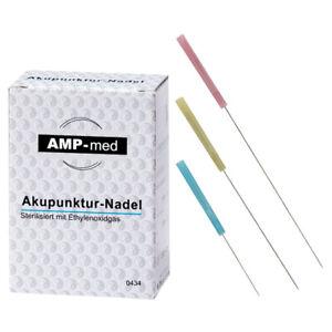 Akupunkturnadeln mit Kunststoffgriff, Akupunktur