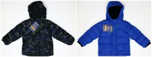 New Boy Infant Toddler Puffer Jacket Winter Coat Kids Size NWT 12M 18M 2T 3T 5T