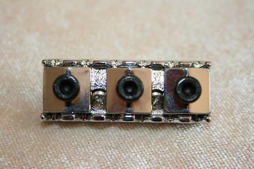 Klemm Sattel Sattelklemmer locking nut 43 mm chrom
