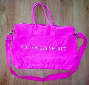 fe8dc4ca3c Victorias Secret Pink NEON LARGE Duffle Gym Bag Carry On Weekend ...